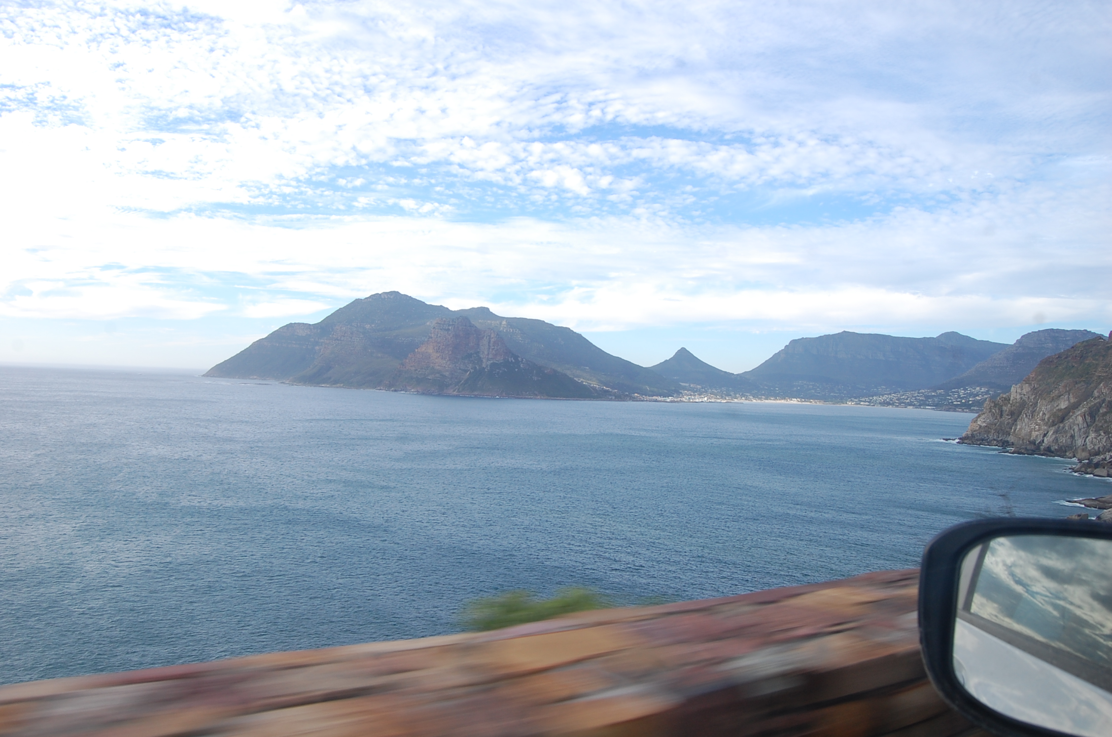 На автомобиле по ЮАР. Chapman's peak drive