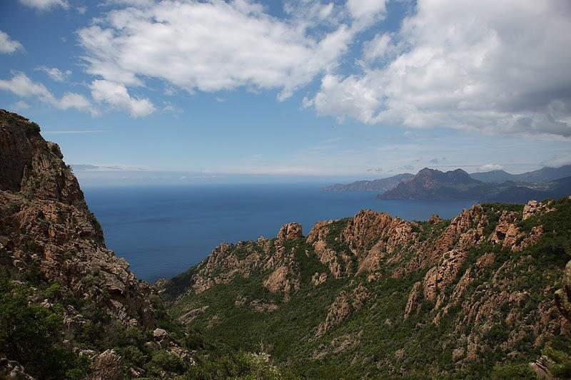 Панорама Корсики