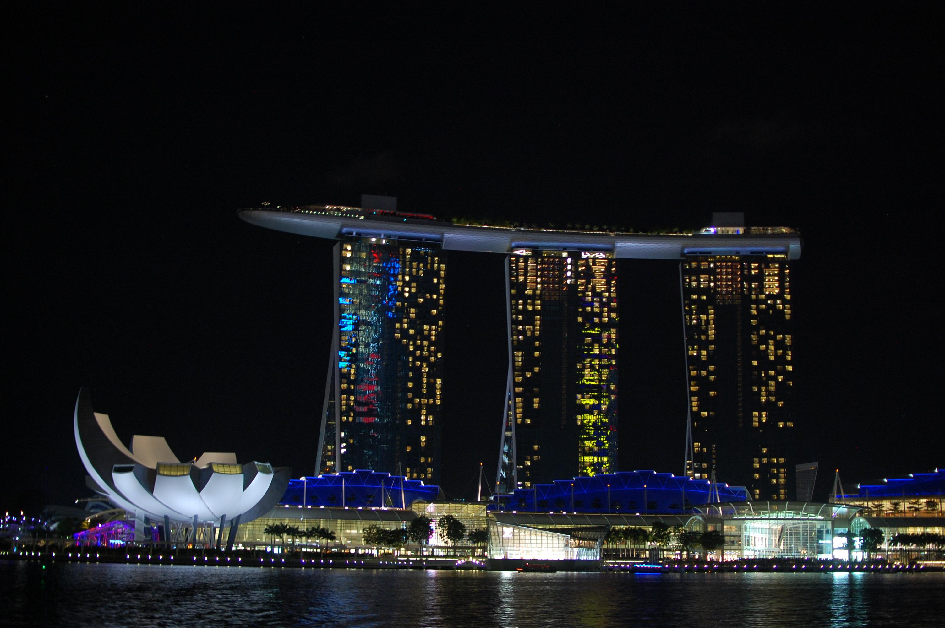 Сингапур фото. Отель Марина Бэй