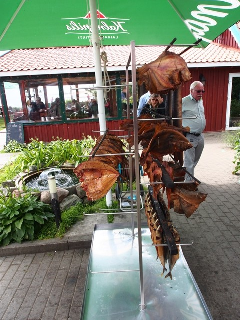 Фотографии Куршской Косы. Юодкранте. Копченая рыба.
