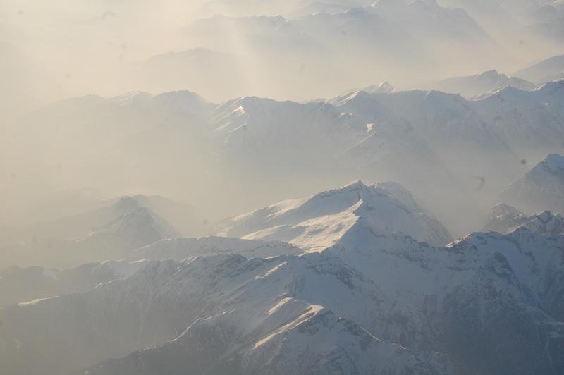Альпы фото сверху ezdim.com