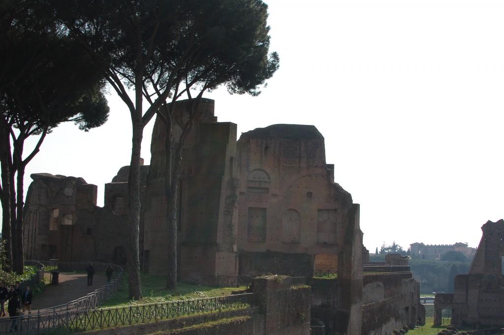 Вид с Палатина на церковь San Jovanni