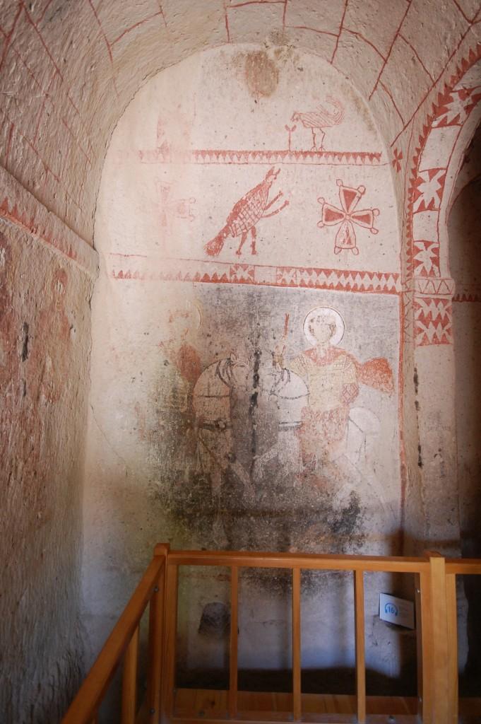 Пещерный храм периода иконоборчества. Открытый Музей Гореме, Каппадокия