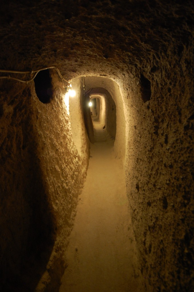 ezdim.com/blog Подземный город Каймаклы Каппадокия