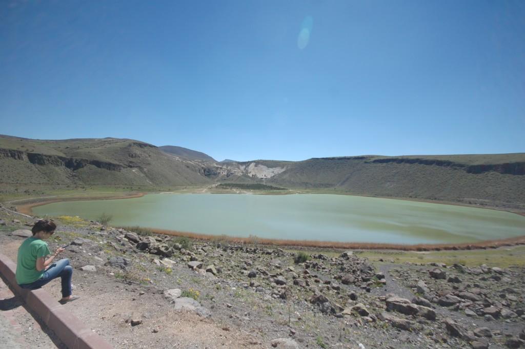 ezdim.com/blog Кратерное озеро Нар, Каппадокия