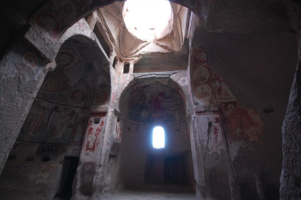 Долина Панджарлык, церковь св. Федора (Aziz Teodore), Каппадокия