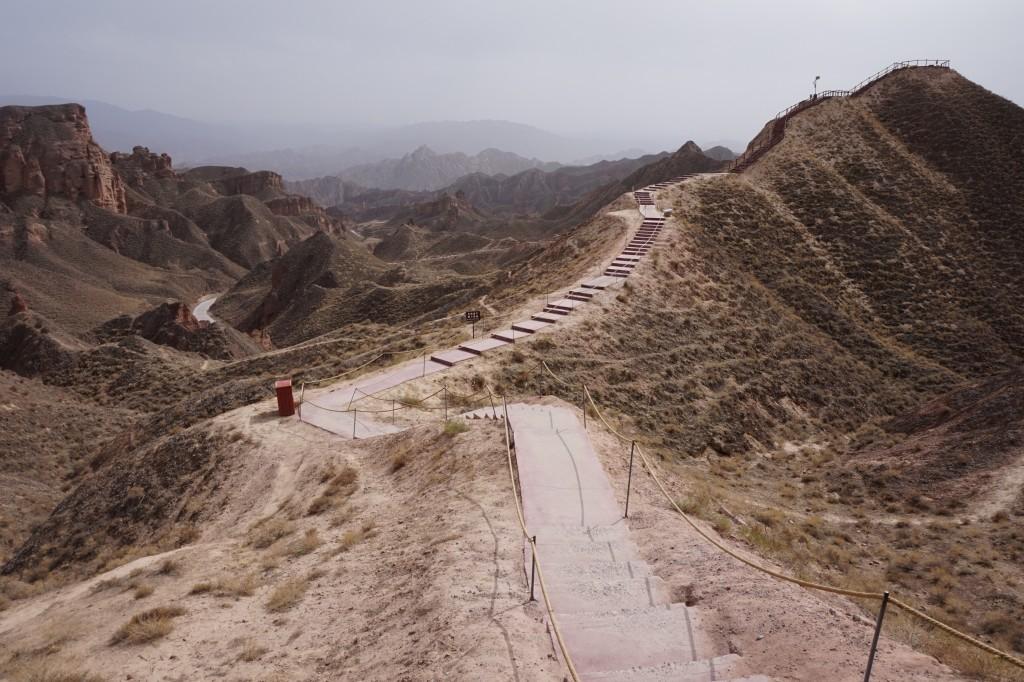 Каньон Binggou, Zhangye National Geopark,